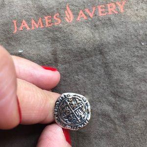 "Retired James Avery ""Crucifix"" Ring"